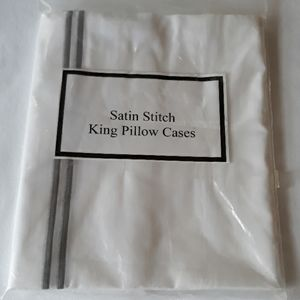Restoration Hardware King pillowcases NWT